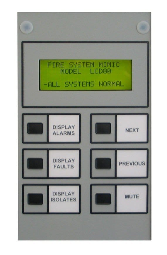 Notifier by Honeywell - LCD-80AU